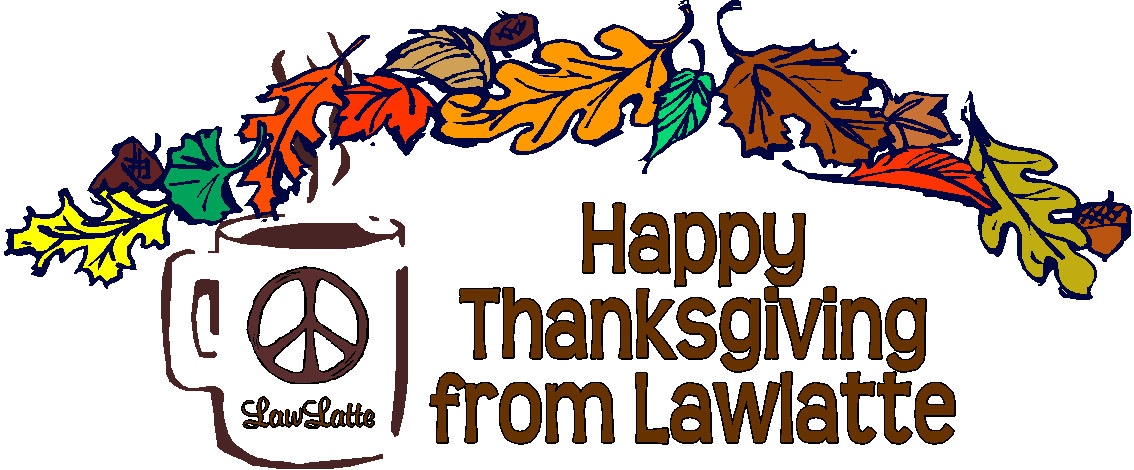 Happy Thanksgiving from Lawlatte