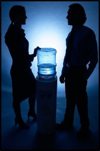 Man Woman Watercooler