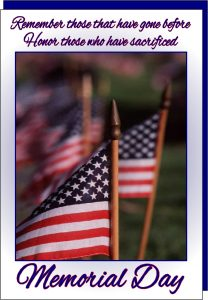 Blessings on Memorial Day