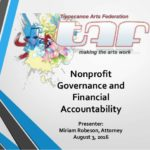 Nonprofit Governance and Financial Accountability